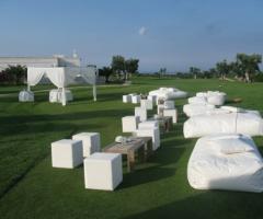 Matrimonio Picnic di lusso nel campo da golf