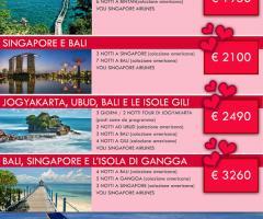 Offerte viaggi di nozze in Indonesia