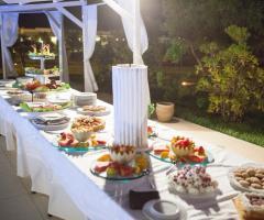 Casale del Murgese - Buffet di frutta e dolci