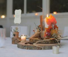 Luisa Mascolino Wedding Planner Sicilia - Centrotavola originali