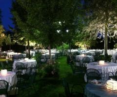 Ricevimento di nozze nel parco della masseria