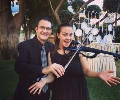 Gruppo Taeda Band per matrimoni - Roberto e Maria Grazia al violino