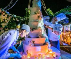 Relais il Santissimo -  La torta nuziale