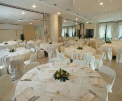 Hotel Villa Michelangelo - Gran Salone per il ricevimento di matrimonio