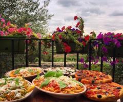 Masseria Montepaolo - Gli antipasti all'aperto