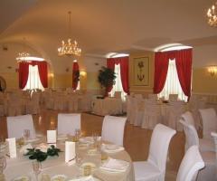 Sala ricevimenti per il matrimonio a Bari - Villa degli Arcieri