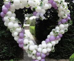 Il Punto Esclamativo - Palloncino a forma di cuore per le nozze