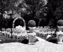 Masseria-Santa-Teresa- L'allestimento per il rito civile