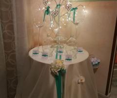 Luisa Mascolino Wedding Planner Sicilia - Allestimento per la confettata