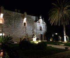 Plenilunio alla Fortezza di sera