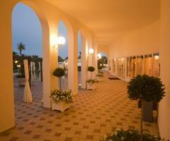 Portico della location di nozze