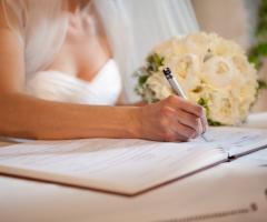 Firma della sposa - Paola Montiglio Photography