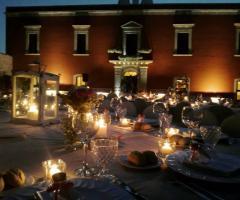 Masseria Cariello Nuovo - Il  rinfresco nuziale di sera