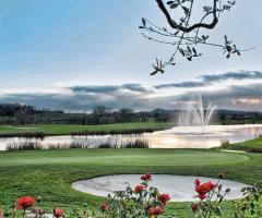 Chervò Golf Hotel &  Resort San Vigilio - Vista panoramica al tramonto