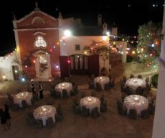 Masseria Torre Coccaro - Cena di nozze nell'aia della masseria