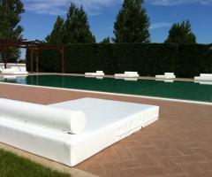 La piscina della location di n ozze
