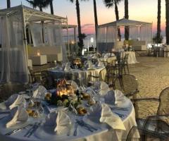 Oasi  Quattro Colonne - I tavoli degli invitati