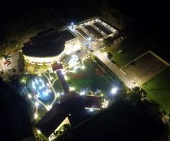Imperatore di Puglia - La vista panoramica notturna dall'alto