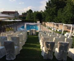 Ristorante Alla Veneziana - Cerimonia di nozze a bordo piscina