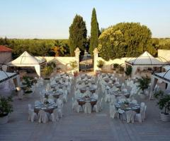 Masseria Cariello Nuovo - Vista panoramica dei tavoli