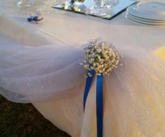Emozioni Wedding Planner - Decorazioni ai tavoli