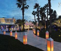 Villa Althea Ricevimenti - La vista panoramica di sera