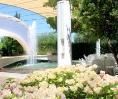 Grand Hotel La Chiusa di Chietri - Il giardino e la fontana