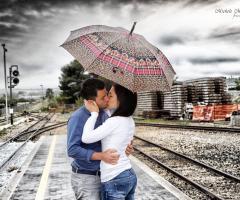 Michele Manicone Fotografia - Un bacio sui binari