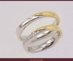Biffi Gioielli - Fedi bicolore per il matrimonio