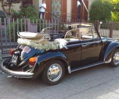 Noleggiami Maggiolini & Co - Il maggiolino nero per gli sposi