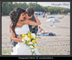 Fabrizio Foto - Foto degli sposi in spiaggia