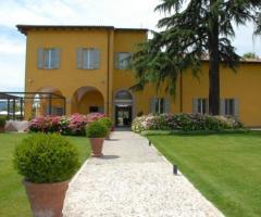 Villa Aretusi - Vista frontale della location