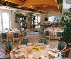 Sala interna della location di matrimonio
