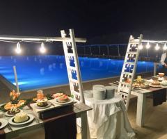 Casale del Murgese - Buffet dei dolci a bordo piscina