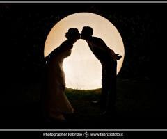 """Fabrizio Foto - Sposi """"sulla luna"""""""