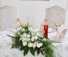 I Giardini della Corte - Tavolo del matrimonio