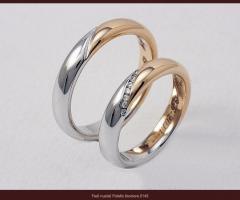 Biffi Gioielli - Fedi bicolore per gli sposi