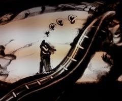 Spettacoli emozionanti di sabbia animata - L'animazione originale per il matrimonio