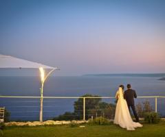 Cala dei Balcani - Gli sposi al tramonto