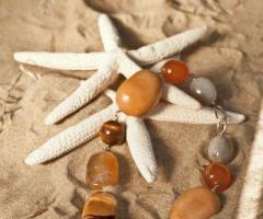 Daniela Gristina - Bracciale di pietre naturali per la sposa