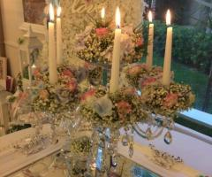 Luisa Mascolino Wedding Planner Sicilia - Candelabri fiorato