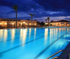 Grand Hotel Vigna Nocelli Ricevimenti - La piscina di sera