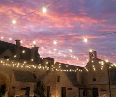 Masseria Bonelli - Al tramonto