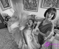 Fotografia dei preparativi della sposa