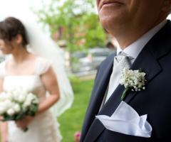 La sposa e il papà - Paola Montiglio Photography