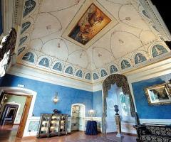 Stanza storica di Villa Carafa