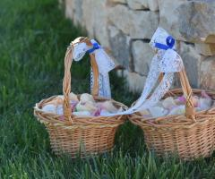 Masseria Grieco - i cestini per i petali