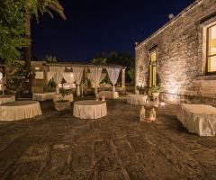 Masseria San Lorenzo - Gli spazi esterni della location
