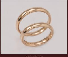 Biffi Gioielli - Fedi matrimoniali in oro rosa