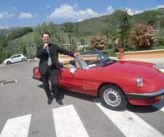 Gruppo Taeda Band per matrimoni - Roberto e l'auto degli sposi